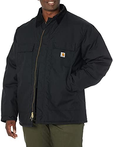 Carhartt Men's Arctic Quilt Lined Yukon Coat,Black,Medium