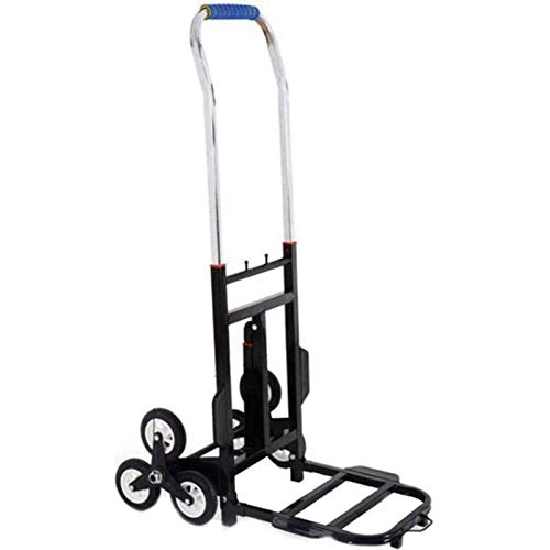 HHTD Folding Trolley,luggage Trolley With Telescopic Handle And Rubber Wheels