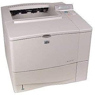 HP LaserJet 4100 Parallel Monochrome Laser Printer w/Toner (Renewed)