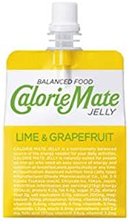 大塚製薬 カロリーメイトゼリー ライム&グレープフルーツ味 215gパウチ×24本入×(2ケース)