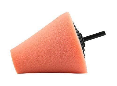 Cleanproducts Eponge de Polissage Cône Polieraufsatz - Reinigungsschwamm-Aufsatz pour Perceuse + Tournevis à Batterie - A Préparation de la Voiture Fahrzeugaufbereitung