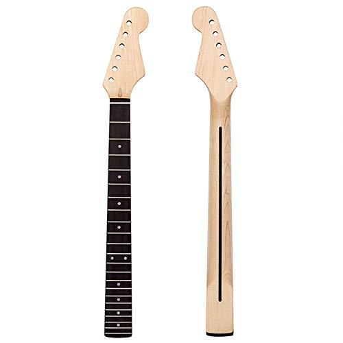 Ljourney Gitarren Griffbrett Gitarrenhals Ersatz Ahorn Hals Für Ahorn Strat ST TL E-Gitarren, 22 Fret Griffbrett Gitarrenreparaturteile