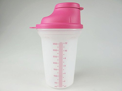 TUPPERWARE Shaky Frische-Mix Mini-Shaker 350 ml PINK Mini-Mix-Fix 6616