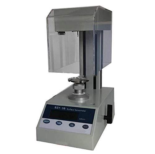 VTSYIQI Surface Tension Meter Lab Professional Surface Interfacial Tensiometer Liquid Surface Interfacial Tension meter Platinum Ring method 0 to 400mN/m BZY-3B