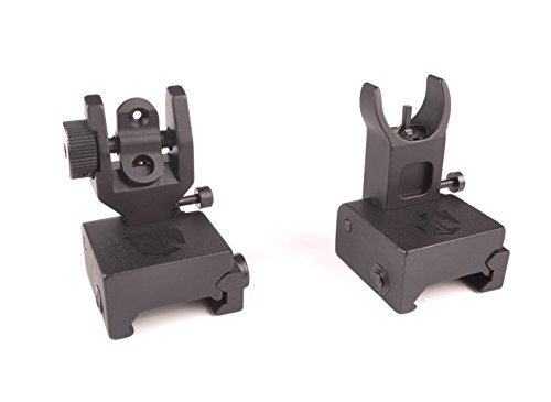 Ozark Armament HK Style Flip Up Backup Sights Picatinny Mount BUIS