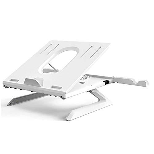 IUwnHceE El Soporte Plegable Portátil Ajustable Muti-ángulo Portátil con Heat-Vent Ergonómico para Un Escritorio Compatible con El Macbook Air Pro Portátil De Superficie (12-17 Pulgadas)