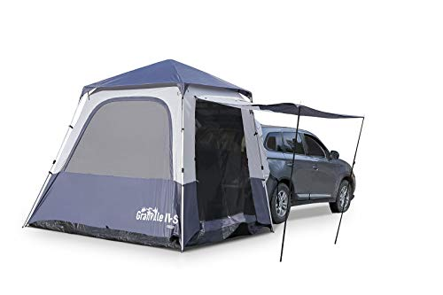SUV Instant Popup Camping Tent | 9' x 9' - Sleeps Up to 7 | for SUV/Crossover/Minivan