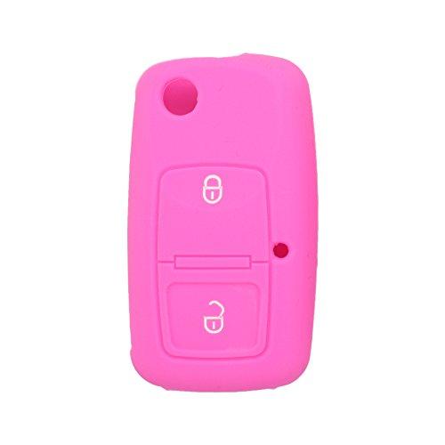 Funda de 2 botones para llave de coche Volkswagen, de la marca Fassport