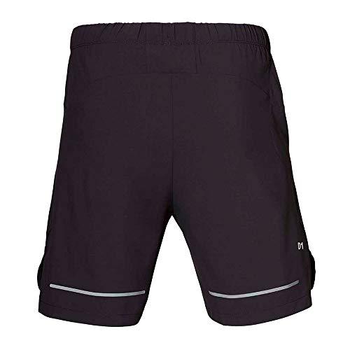 ASICS Lite-Show 7 Inch Running Shorts - Small Grey