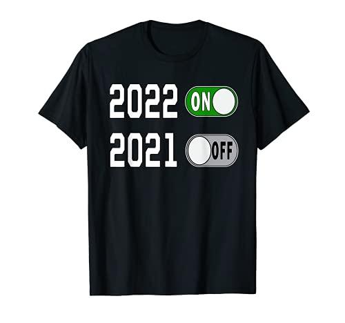 Nochevieja Especial Fiesta divertida 2022 Feliz año nuevo Camiseta
