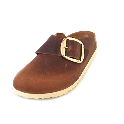 BIRKENSTOCK Basel Big Buckle FL Antik Brown 37