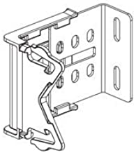 Graber 2 1/2-Inch Wide Dauphine Curtain Rod Brackets, 2 1/2 to 3 1/2-Inch Projection (White, 1 Pair)