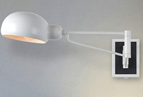 Moderne inbouwlamp met lange arm hanglamp hanglamp plafondlamp leeslamp dubbelkop decoratief wit _zonder schakelaar