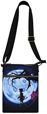 Loungefly Coraline Button Moon Passport Crossbody Bag product image