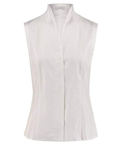 van Laack Damen Alisa-NOS Bluse, Weiß (Weiß 000), 40