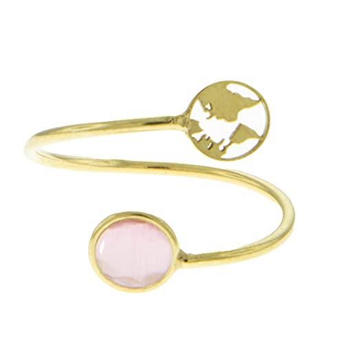 Córdoba Jewels | Anillo en Plata de ley 925 bañada en oro con diseño...