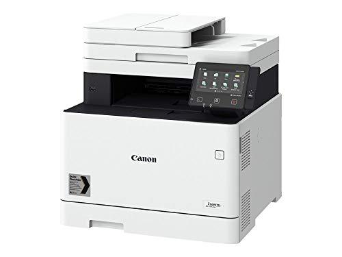 Impresora láser multifunción color Canon i-Sensys MF744Cdw blanca Wifi