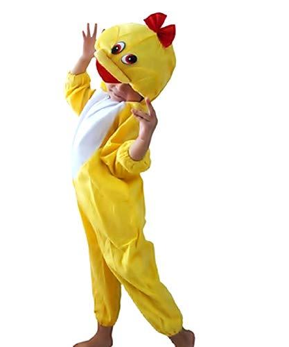 Disfraz de pato - 2/3 años - disfraces para niños - carnaval - pato - halloween - niña - niño - unisex - cosplay - talla s - idea de regalo original cosplay