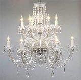 HLL Lampadari Plafoniere , Lampadari Illuminazione Lampadari in cristallo H27 X W32