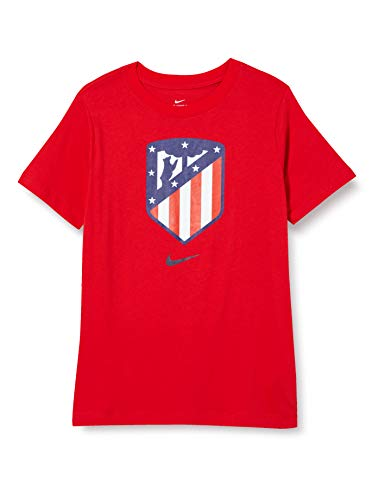 Nike Boys ATM B NK TEE EVERGREEN CREST T Shirt Sport red M