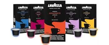 250 capsule caffè Lavazza compatibili NESPRESSO mix 5 gusti 50 capsule per tipo