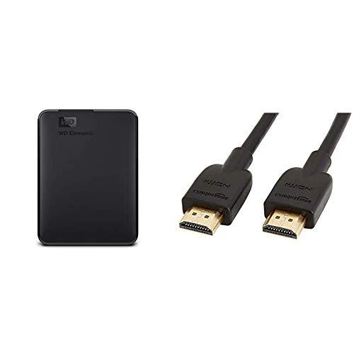 WD Elements - Disco Duro Externo portátil de 4 TB con USB...
