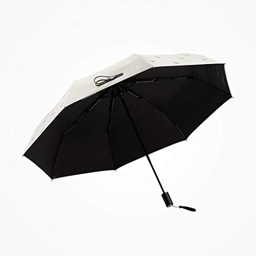 WZMFDC Umbrella Umbrella AntiUV Sunscreen Ultra Light Folding Adult Woman Trifold Sun Umbrella (Color : A) dongdong (Color : B)