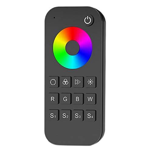 Timagebreze Controlador RF LED de 4 Canales RGBW/RGB/CCT/Regulador MultifuncióN de AtenuacióN 12-24VDC