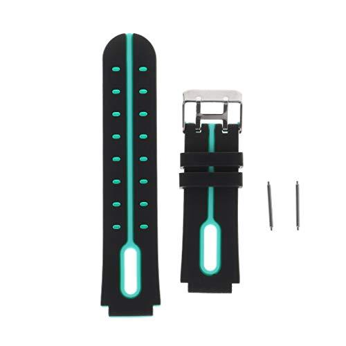 Leiouser - Correa de silicona de repuesto para reloj inteligente Q750, Q100, Q60, Q80, Q90, Q528, T7, S4, Y21, Y19