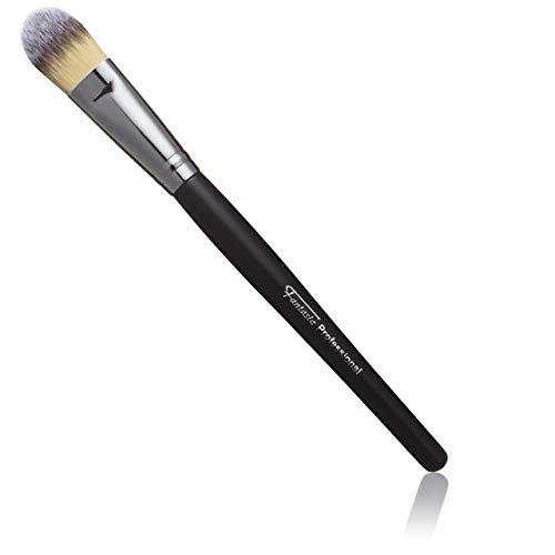 Make Up Pinsel vegan, Professioneller Foundation Pinsel, feinstes Toray-Haar, Länge: 20 cm, Foundation Brush für flüssiges Makeup von Fantasia