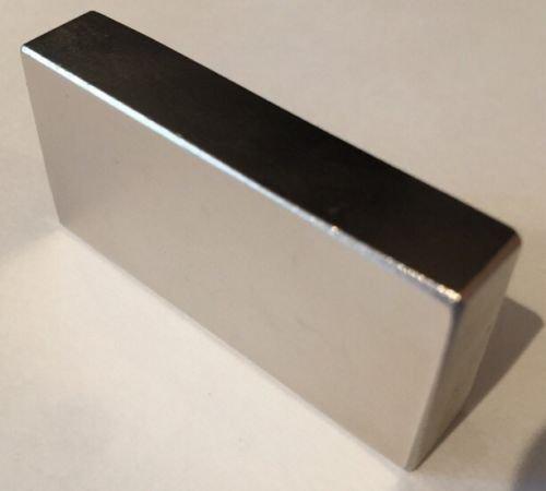 AOMAG Rare Max 64% OFF Earth Neodymium N52 Bar Rectangular Block x 80 specialty shop Magnet