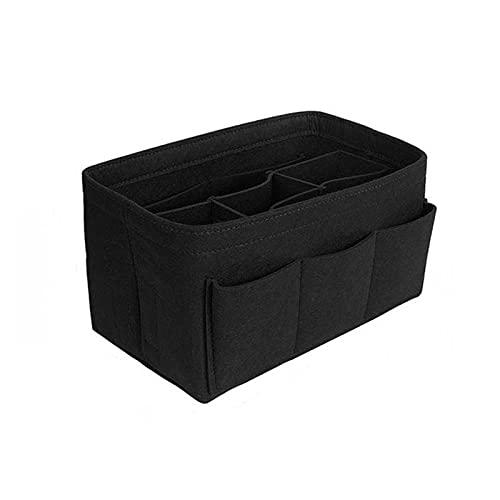 QXLG Borsa cosmetica Make up Organizer Felt Insert Bag per Borse da Viaggio Borsa Interna Portatile Borse Cosmetici in Forma Vari Sacchetti di Marca Moda (Color : B1, Size : 30X16X16CM)