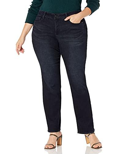 Bandolino Women's Petite Mandie Signature Fit High Rise Straight Leg Jean, Sonora, 14P