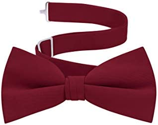 Men s Formal Tuxedo Bow Tie Burgundy product image