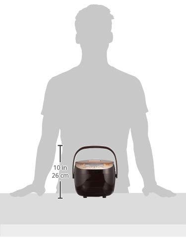 象印炊飯器3合マイコン式極め炊き黒厚釜一人暮らしカッパーブラウンNL-BB05AM-TM