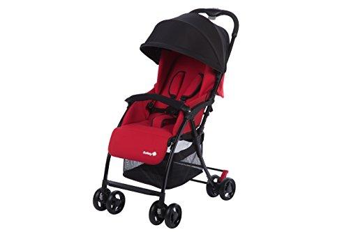 Safety 1st Urby - Cochecito ligero con cubrepiernas incluido, apto para nacimiento, rojo