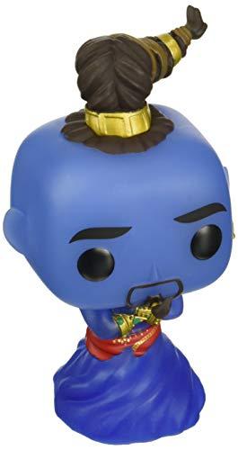 POP Funko Disney: Aladdin Live Action - Genie (brilla en la oscuridad) Exclusivo de Amazon