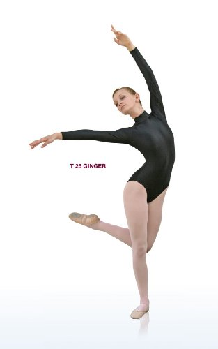 Danceries Trikot mit Stehkragen und langem Arm, Material: Supplex, Gr.: 38, Farbe: bordeaux