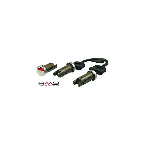 Schlossset Schließzylinder Zündung/Sitzbank/Gepäckfach RMS für Vespa 50-200 PK/XL/Plurimatic/Rush/N/PX/Cosa/PXE/Arcobaleno
