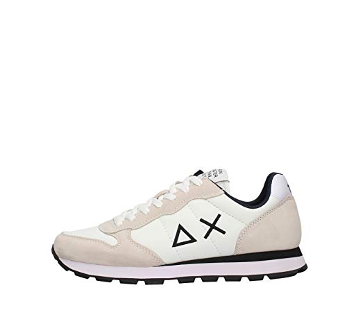 SUN 68 Tom Solid Sneaker Bianco da Uomo Z31108-31