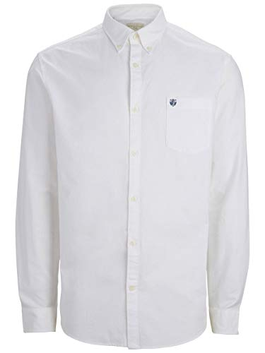 SELECTED HOMME Male Hemd SLHCOLLECT Regular FIT Oxford - LWhite