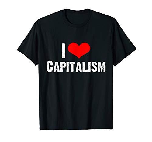 I Love Capitalism Shirt Aktien Kapital T-Shirt