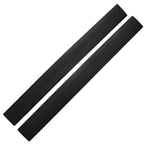 Premium-silikon-Herd-lückenabdeckung Silikon Herd Zähler Spaltabdeckung Gasherd Gap Bar Gap Seal Oven Gap Filler Aufsatz- Schwarz 21-Zoll-Gap-Streifen 2st
