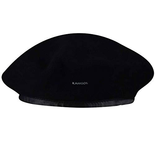 Kangol - Boina para Mujer, Talla Small, Color Negro