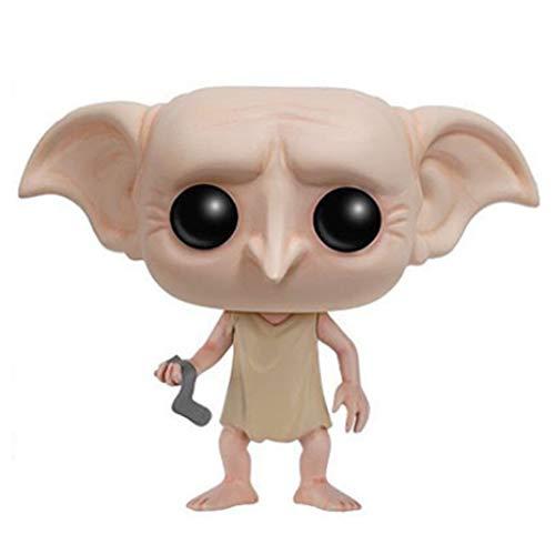 ZEwe Pop Harry James Potter Dobby Mini Q versión 3.9inches Acción de colección PVC Figura EP PVC