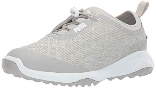 Puma Golf Women's Brea Fusion Sport Golf Shoe, Gray...