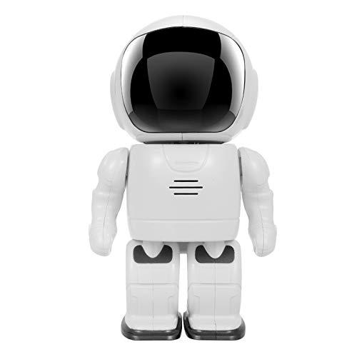 Walmeck Cámara robot HD 1080P Cámara de seguridad inteligente Cámara IP Pan Tilt Cámara WiFi Soporte P2P Visión nocturna Detección de movimiento Audio bidireccional Control de la aplicación del teléfo