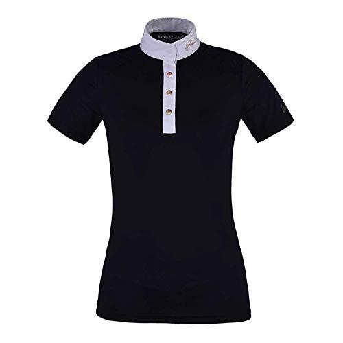 Kingsland Damen Turniershirt Oliva Farbe Reitbekleidung Navy, Größe S