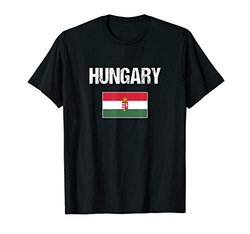 Hungary Ungarisches Souvenir | Ungarn Flagge T-Shirt