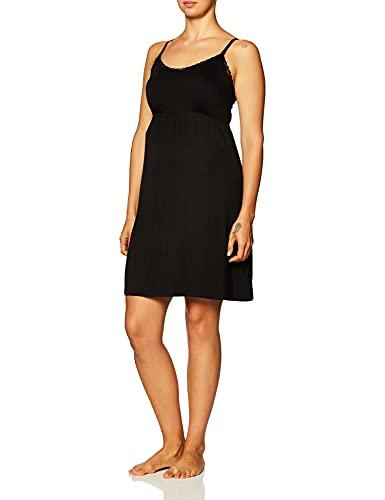 Motherhood Maternity Women's Maternity Lace Trim Nursing Nightgown,...